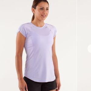 Lululemon Run Lilac Sun Sprinter Short Sleeve